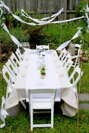 party chair and table rentals tables children s tables av party rental