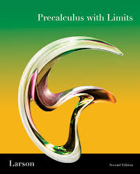 precalculus with limits 2nd edition 9781439049099 cengage