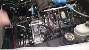corvette alternator bracket removing power steering alternator bracket ac belt
