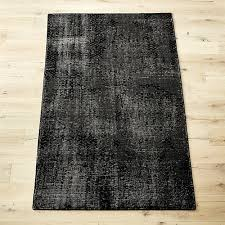the hill side disintegrated floral grey rug cb2