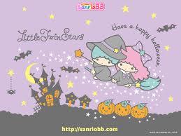 kawaii halloween wallpaper little twin stars sanrio wallpaper fung pinterest sanrio