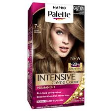 Light Brown Temporary Hair Color Spray Buy Napro Palette Hair Colour 7 0 Light Brown 1 Pack By Napro