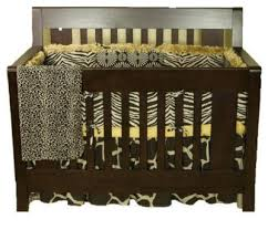 Cheetah Print Crib Bedding Set Cheetah Print Baby Bedding Animal Print Baby Crib Nursery