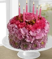 birthday flower cake birthday flower cake flowering birthday cake a no calorie cake