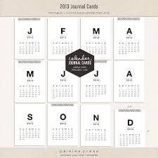 the lilypad calendars 2013 calendar journaling cards