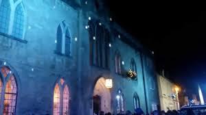 snow falling lighting effect