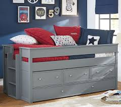 kids captain bed elliott captain s bed trundle pottery barn kids