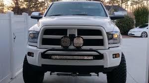 ram 1500 light bar bumper led light bar rigid d2 s dodge cummins diesel forum