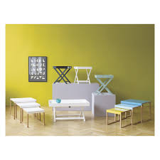 Folding Coffee Table Uk Folding X Base Coffee Table With Metal Legs Diy Furniture