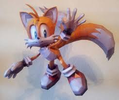 Sonic The Hedgehog Papercraft - papermau sonic the hedgehog tails the fox paper model by destro2k