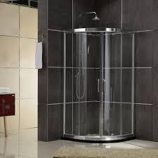Install Shower Door by Sliding Shower Door With Curved Glass Sliding Shower Door With