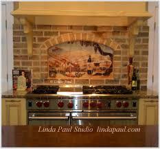 murals for kitchen backsplash tuscan tile murals kitchen backsplash tiles home design ideas