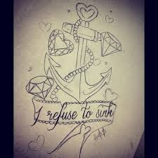 cant wait to get this refuse to sink tattoo design going to add