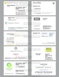 10 business cards templates perfect style design