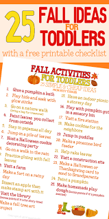 fall bucket list for toddlers busy toddler