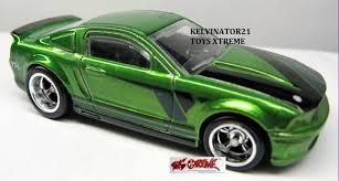 Black And Lime Green Mustang 2013 U0026 2014 Treasure Hunt Dan Super Treasure Hunt Markas Wheels