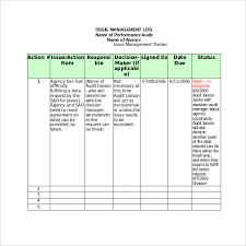 Issue Tracking Excel Template 18 Tracking Templates Free Sle Exle Format Free
