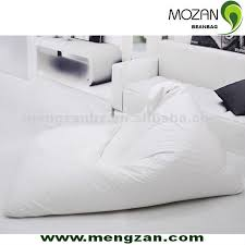 Bean Bag Sofa Bed by Mz012 Beanbag Sofa Bed Made Of Pu Leather Buy Beanbag Leather