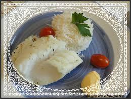 comment cuisiner un dos de cabillaud dos de cabillaud au court bouillon et riz tilda quand choupette et