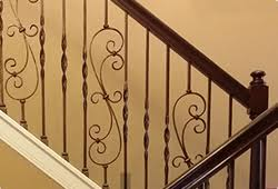 Replacing A Banister And Spindles Houston Stair Parts Stair Remodel Iron Balusters Railing