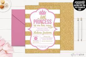 printable little princess on her way design bundles