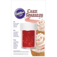 edible gliter wilton white cake sparkles kitchen dining