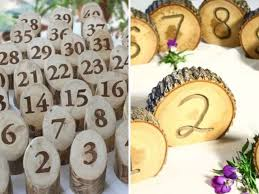 wedding table number ideas 35 most appealing wedding table number ideas gurmanizer