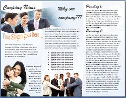 brochure format u2013 word documents