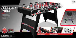 rec tek ping pong table amazon com eastpoint sports 48 inch foosball table with led