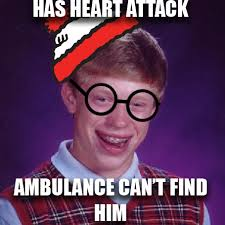 Meme Bad Luck Brian - bad luck waldo bad luck brian know your meme