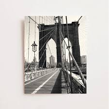 free shipping code home decorators brooklyn bridge photography black and white new york city print