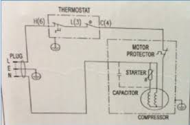 electrical and wiring diagram of hisense mini bar rr60d4agn 60l