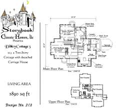 storybook cottage house plans storybook cottage home plans house