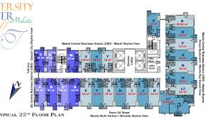 Sm Mall Of Asia Floor Plan by University Tower 3 In Malate