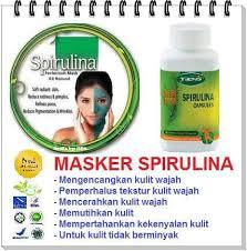 Jual Masker Wajah Untuk Kulit Berminyak kulit kusam jual masker spirulina murah masker wajah alami