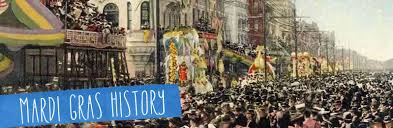 mardi gras by the arthur hardy s history of mardi gras