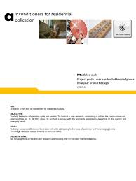 heating ventilating and air conditioning analysis and design thesis air conditioning refrigeration