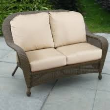 Wicker Settee Replacement Cushions Wyndham And Winward Replacement Cushions