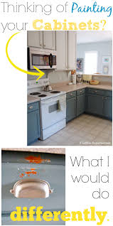 Painting Vs Staining Kitchen Cabinets Painting Your Kitchen Cabinets What I Would Do Differently 2