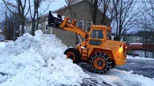 1963 michigan 55ag wheel loader in snow youtube