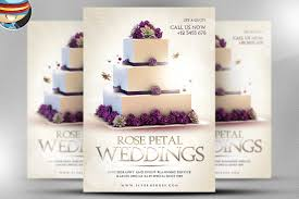 wedding cake quote template wedding psd flyer template flyer templates creative market