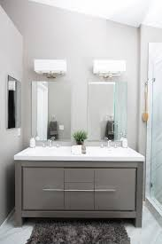 Shallow Bathroom Cabinet San Diego Shallow Bathroom Vanity Contemporary With His And Her