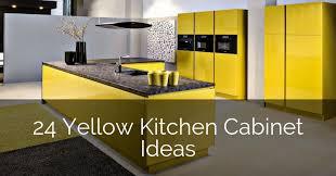 modern kitchen design yellow 24 yellow kitchen cabinet ideas sebring design build