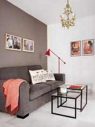 one wall painted home design