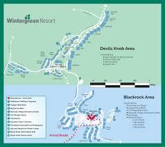 Blue Ridge Mountains Map Wintergreen Resort Premier Blue Ridge Mountain Ski Golf Tennis