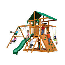 gorilla playsets outing iii cedar playset home the o u0027jays and