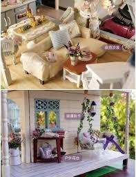 Dolls House Furniture Diy Aliexpress Com Buy Provence Villa Large Diy Wood Doll House 3d