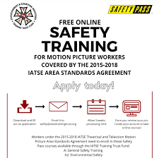 iatse local 479 online safety training now available dedicated