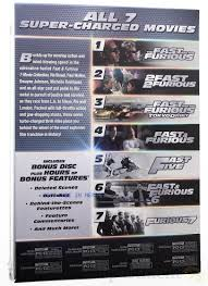 Fast And Furious 7 Movie Collection Walmart Com
