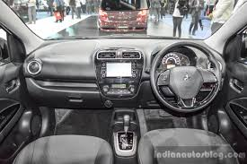 eclipse mitsubishi 2016 2016 mitsubishi mirage interior dashboard at 2016 bangkok